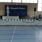 Bühne in der Sporthalle